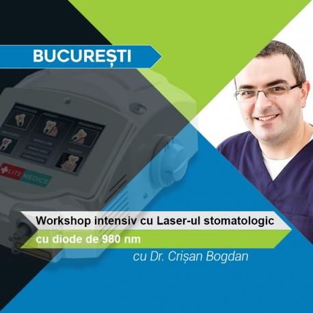 Workshop cu LASER-ul Diodă în București alături de Dr. Crișan Bogdan